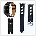 hesapli Dekorasyon Etiketleri-Watch Band için Apple Watch Series 3 / 2 / 1 Apple Modern Toka Gerçek Deri Bilek Askısı