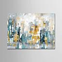 ieftine Imbracaminte & Accesorii Căței-Hang-pictate pictură în ulei Pictat manual - Abstract Modern Fără a cadru interior / Canvas laminat