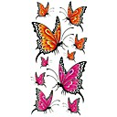 cheap Temporary Tattoos-1 pcs Tattoo Stickers Temporary Tattoos Animal Series Waterproof Body Arts Body / Arm / Shoulder
