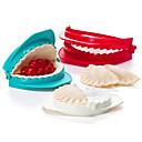 hesapli Meyve ve Sebze Araçları-Mutfak aletleri Plastikler Yaratıcı Mutfak Gadget DIY Kalıp Günlük Kullanım / Pişirme Kaplar İçin 3adet
