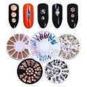 ieftine Protectoare Ecran de iPhone 4s / 4-6 pcs Nail Art Drill Kit Cristal nail art pedichiura si manichiura Nuntă / Petrecere / Seară / Zilnice Metalic