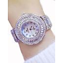 ieftine Audio & Video-Pentru femei Ceasuri de lux Ceas Elegant Diamond Watch Japoneză Quartz Oțel inoxidabil Auriu 50 m Cronograf Luminos Mare Dial Analog femei Lux Sclipici Bling bling - Auriu Argintiu Roz auriu