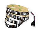 hesapli RGB Şerit Işıklar-1m RGB Şerit Işıklar 30 LED'ler 1 DC Kablo RGB Kesilebilir / Su Geçirmez / Dekorotif 5 V / USB ile çalışır / IP65 / Bağlanabilir / Kendinden Yapışkanlı