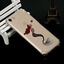 hesapli iPhone SE/5s/5c/5 İçin Ekran Koruyucular-Pouzdro Uyumluluk Apple iPhone X iPhone 8 Şoka Dayanıklı Yarı Saydam Arka Kapak Seksi Kadın Yumuşak TPU için iPhone X iPhone 8 Plus