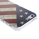 hesapli iPhone Kılıfları-Pouzdro Uyumluluk iPhone 5 / Apple iPhone 5 Kılıf Temalı Arka Kapak Bayrak Sert PC için iPhone SE / 5s / iPhone 5