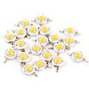 ieftine LED-uri-YouOKLight 50buc Accesoriu pentru becuri LED de aur pur Cip LED Transparent 1 W