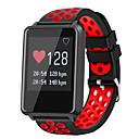 preiswerte Ohrringe-Smartwatch STF8 für Android iOS Bluetooth Wasserfest Herzschlagmonitor Blutdruck Messung Touchscreen Langes Standby Schrittzähler Anruferinnerung Schlaf-Tracker Finden Sie Ihr Gerät / Wecker