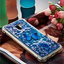 رخيصةأون Sony أغطية / كفرات-غطاء من أجل Samsung Galaxy A8 Plus 2018 / A8 2018 ضد الصدمات / سائل متدفق / نموذج غطاء خلفي فراشة ناعم TPU إلى A3 (2017) / A5 (2017) / A8 2018