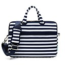 "cheap Laptop Cases-Canvas Lines / Waves Handbags / Shoulder Bag 15"" Laptop / 14"" Laptop / 13"" Laptop"