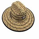 رخيصةأون أساور-الربيع الصيف بني فاتح قبعة الماصة مخطط رجالي-شبكة كتان,عتيق عطلة