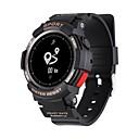 رخيصةأون ساعات ذكية-F6 سمارت ووتش Android بلوتوث GPS ضد الماء رصد معدل ضربات القلب شاشة لمس عداد الخطى متتبع النشاط متتبع النوم تذكير المستقرة الكرونوغراف / حساس نسبة القلب / 200-250