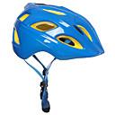 رخيصةأون سماعات الهاتف والأعمال-للأطفال خوذة دراجة 17 المخارج CE Impact Resistant  خفيفة الوزن تهوية EPS رياضات أخضر / الدراجة تخييم - فوشيا أخضر أزرق / مصبوبة بشكل تكاملي