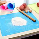 Недорогие Приборы для выпечки-Инструменты для выпечки Силиконовый гель Многофункциональный / Творческая кухня Гаджет Для приготовления пищи Посуда Прямоугольный Маты и вкладыши для выпечки 1шт