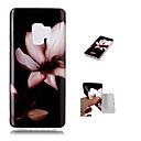 abordables Coques / Etuis pour Galaxy Série S-Coque Pour Samsung Galaxy S9 Plus / S9 Motif Coque Fleur Flexible TPU pour S9 / S9 Plus