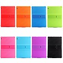cheap Galaxy S Series Cases / Covers-Case For Huawei MediaPad MediaPad T3 10(AGS-W09, AGS-L09, AGS-L03) Shockproof / with Stand Back Cover Solid Colored Soft Silicone for Huawei MediaPad T3 10(AGS-W09, AGS-L09, AGS-L03)