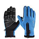 זול אביזרים ל-PS4-ROCKBROS אצבע מלאה יוניסקס כפפות אופנוע פלנל עמיד למים / שמור על חום הגוף / נושם