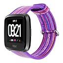 levne Shlédnout pásy pro Fitbit-Watch kapela pro Fitbit Versa Fitbit Klasická spona Nylon Poutko na zápěstí