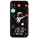 cheap iPhone Cases-Case For Apple iPhone X / iPhone 8 Ultra-thin Back Cover Word / Phrase / Cartoon Soft TPU for iPhone X / iPhone 8 Plus / iPhone 8