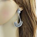 preiswerte Ohrringe-Damen Crossbody Tropfen-Ohrringe - Tropfen Quaste, Modisch Silber Für Alltag Verabredung