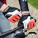 ieftine Ustensile & Gadget-uri de Copt-Mănuși pentru ciclism Mănuși Mountain Bike Respirabil Anti-Alunecare Rezistent la șoc Protector Jumătate de Deget Activități/ Mănuși de sport Lycra Prosop Ciclism montan Portocaliu Verde Gri pentru