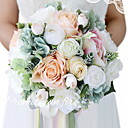 baratos Acessórios & Roupas para Cachorros-Flores artificiais 1 Ramo Clássico Festa / Noite / Moderno / Contemporâneo Rosas Cesto Flor