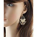 preiswerte Ohrringe-Damen Crossbody Tropfen-Ohrringe - Birne damas, Grundlegend, Modisch Gold / Braun Für Alltag Verabredung