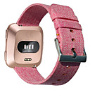 رخيصةأون أساور ساعات FitBit-حزام إلى Fitbit Versa فيتبيت بكلة كلاسيكية القماش / نايلون شريط المعصم