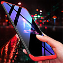 رخيصةأون بروشات-غطاء من أجل OnePlus OnePlus 6 / One Plus 5 / OnePlus 5T مثلج غطاء خلفي لون سادة قاسي الكمبيوتر الشخصي