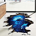 cheap LED T-shirts-Decorative Wall Stickers / Floor Stickers - 3D Wall Stickers Landscape / 3D Living Room / Bedroom / Bathroom