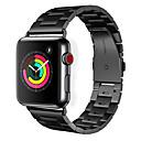 저렴한 애플 시계 밴드-시계 밴드 용 Apple Watch Series 3 / 2 / 1 Apple 클래식 버클 스테인레스 스틸 손목 스트랩