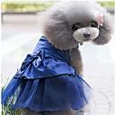 hesapli Köpek Giyim ve Aksesuarları-Köpekler / Kediler / Tüylü Küçük Hayvanlar Elbiseler Köpek Giyimi Jakarlı / Kalp / Prenses Koyu Mavi / Kırmzı / Pembe Cotton Jacquard / Pamuk Kostüm Evcil hayvanlar için Bayan Spor ve Dış Ortam