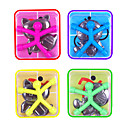 cheap Accessories For GoPro-10 pcs Magnet Toy Mini Q-Man Magnet / Cute Rubber Magnet Men / Building Blocks Silicone Magnetic Kid's Gift
