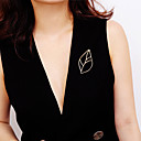 ieftine Becuri LED Glob-Pentru femei Broșe Temă Florală femei Dulce Modă Elegant Broșă Bijuterii Auriu Argintiu Pentru Cadou Gril pe Kamado