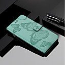 cheap iPhone SE/5s/5c/5 Screen Protectors-Case For Apple iPhone X / iPhone 8 Wallet / Card Holder / with Stand Full Body Cases Butterfly Hard PU Leather for iPhone X / iPhone 8 Plus / iPhone 8