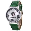 hesapli Kadın Saatleri-Kadın's Bilek Saati Quartz Siyah / Beyaz / Mavi Gündelik Saatler Sevimli Analog Bayan Çiçek Renkli - Kırmzı Yeşil Mavi