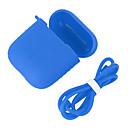 hesapli USB Flaş Sürücüler-Çantalar, Kılıflar ve Deriler Silikon Beyaz / Siyah / YAKUT 1 pcs