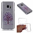 رخيصةأون حافظات / جرابات هواتف جالكسي S-غطاء من أجل Samsung Galaxy S9 / S9 Plus / S8 Plus IMD / شفاف / نموذج غطاء خلفي شجرة / زهور ناعم TPU