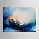 ieftine HDMI-Hang-pictate pictură în ulei Pictat manual - Abstract Modern Fără a cadru interior / Canvas laminat