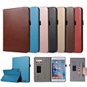cheap iPad  Cases / Covers-Case For Apple iPad mini 4 / iPad Mini 3/2/1 Card Holder / with Stand / Magnetic Full Body Cases Solid Colored Hard PU Leather for iPad Mini 3/2/1 / iPad Mini 4 / iPad (2018)