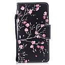 رخيصةأون إكسسوارات سامسونج-غطاء من أجل Huawei Huawei P9 محفظة / حامل البطاقات / قلب غطاء كامل للجسم زهور قاسي جلد PU