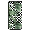 cheap iPhone Cases-Case For Apple iPhone X / iPhone 8 Plus Pattern Back Cover Plants / Geometric Pattern / Cartoon Hard Acrylic for iPhone X / iPhone 8 Plus / iPhone 8