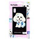 رخيصةأون أغطية أيفون-غطاء من أجل Apple iPhone X / iPhone 8 Plus / iPhone 8 نموذج غطاء خلفي كلب قاسي زجاج مقوى