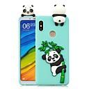 ieftine Gadget Baie-Maska Pentru Xiaomi Redmi Note 5A / Redmi 5A / Xiaomi Redmi 4X Reparații Capac Spate Panda Moale TPU