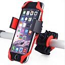זול שעוני גברים-מתקן טלפון לאופניים סיבוב 360 עבור אופני כביש אופני הרים רכיבת אופניים פלסטיק ג'ל סיליקה שחור אדום