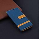 رخيصةأون Nokia أغطية / كفرات-غطاء من أجل نوكيا Nokia 5.1 / Nokia 3.1 / Nokia 2.1 محفظة / حامل البطاقات / مع حامل غطاء كامل للجسم لون سادة قاسي منسوجات