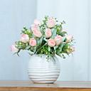 preiswerte Künstliche Blumen-Künstliche Blumen 1 Ast Klassisch Einzelbett(150 x 200 cm) Stilvoll Rosen Tisch-Blumen