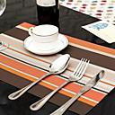 preiswerte Tischunterlagen-Moderne PVC Quadratisch Platztdeckchen Mit Mustern nicht-haftend / Anti-tragen / Splitterschutz Tischdekorationen 1 pcs