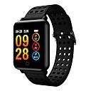 Недорогие Умные часы1-smartwatch m19 женщины мужчины сердечный ритм кровяное давление bluetooth водонепроницаемый спортивный умный браслет для android ios