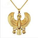 ieftine Ceasuri Bărbați-Bărbați Coliere cu Pandativ Stl Gravat Creative Modă Oțel titan Auriu 61 cm Coliere Bijuterii 1 buc Pentru Party / Seara Zilnic