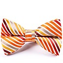 cheap Men's Bow Ties-Men's Party / Basic Bow Tie - Striped / Color Block Bow
